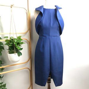 FINDERS KEEPERS Cobalt Blue Sample Dress Open Back